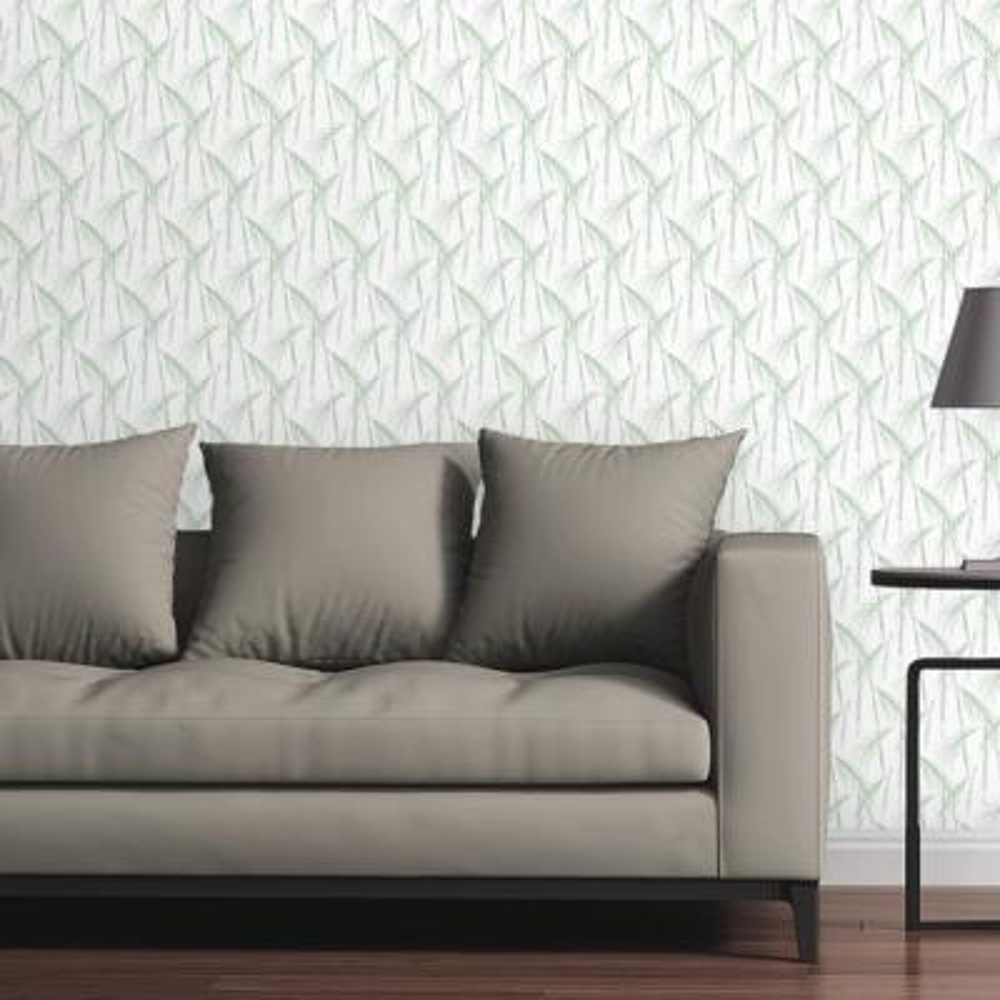 Minimal Bamboo by Circle Art Group Removable Wallpaper Panel