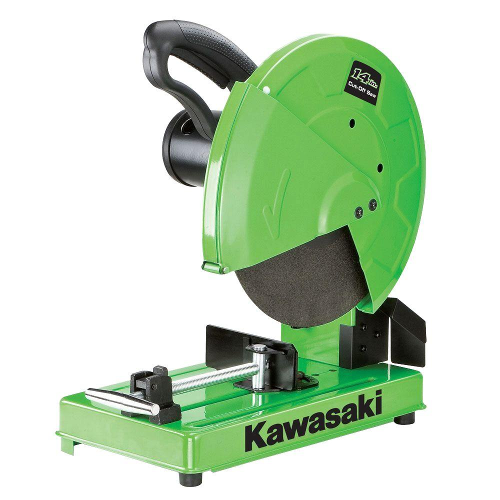 Kawasaki 15 Amp 14 in. Metal Cut Off Saw