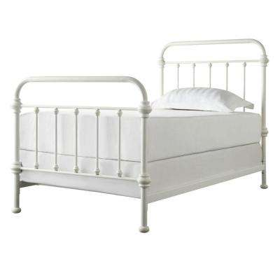 c15fbe60fab4e Metal - Twin - White - Beds   Headboards - Bedroom Furniture - The ...