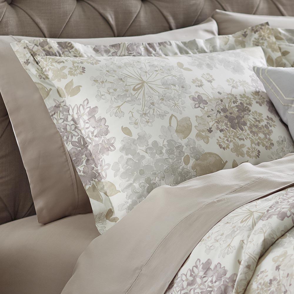 Flower Bed Linen King Pillow Sham