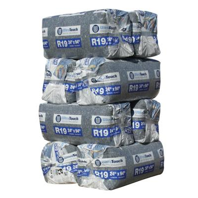 R-19 Denim Insulation Batts 24.25 in. x 94 in. (8-Bags)
