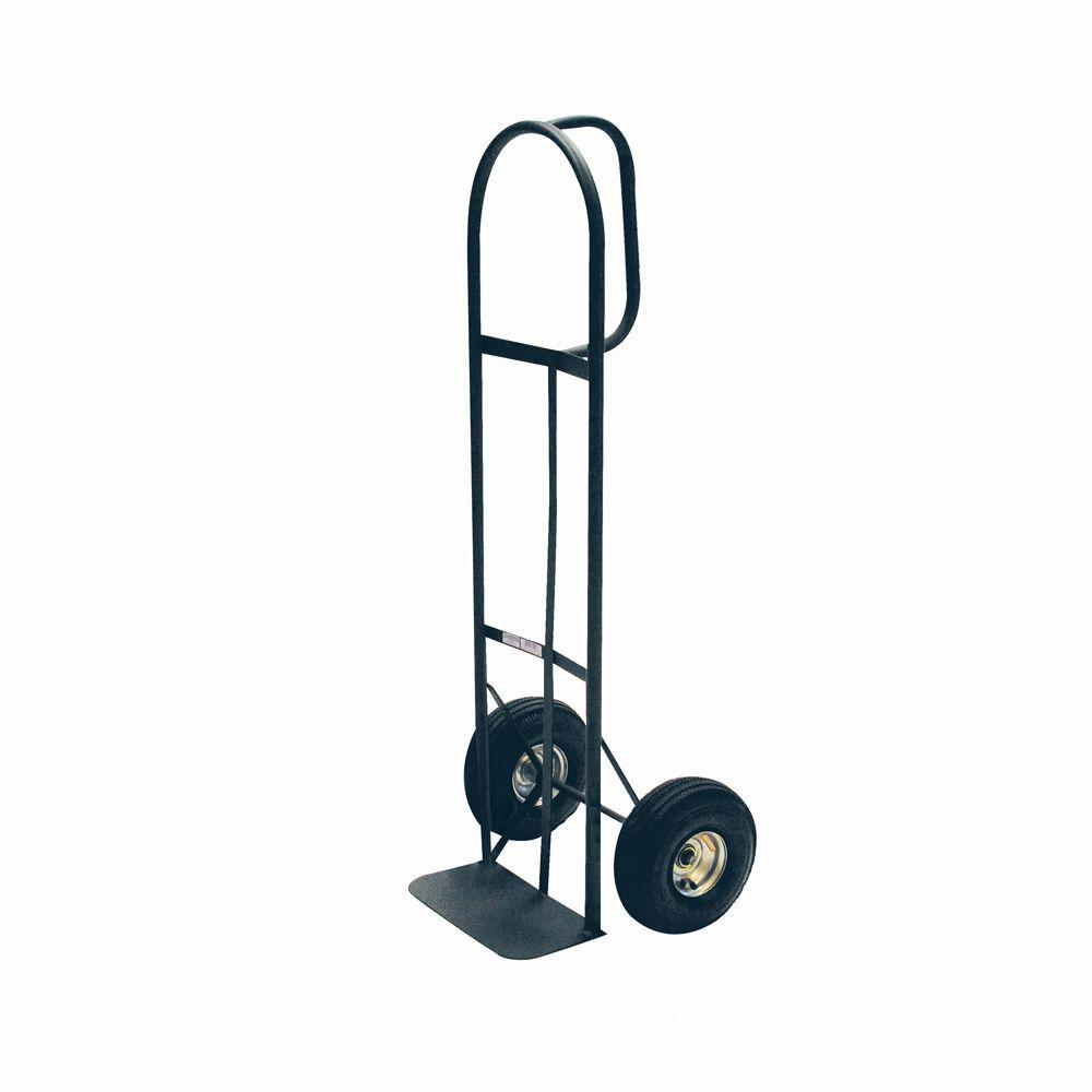 Milwaukee 800 lb capacity d handle hand truck hd800p for Furniture moving equipment home depot