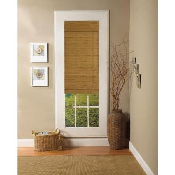 "Radiance ""Natural Capri Bamboo Roman Shade - 27 in. W x 72 in. L"""