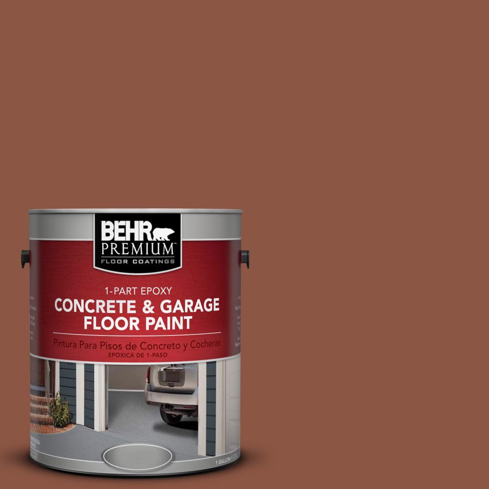 1 gal. #S180-7 True Copper 1-Part Epoxy Concrete and Garage Floor Paint