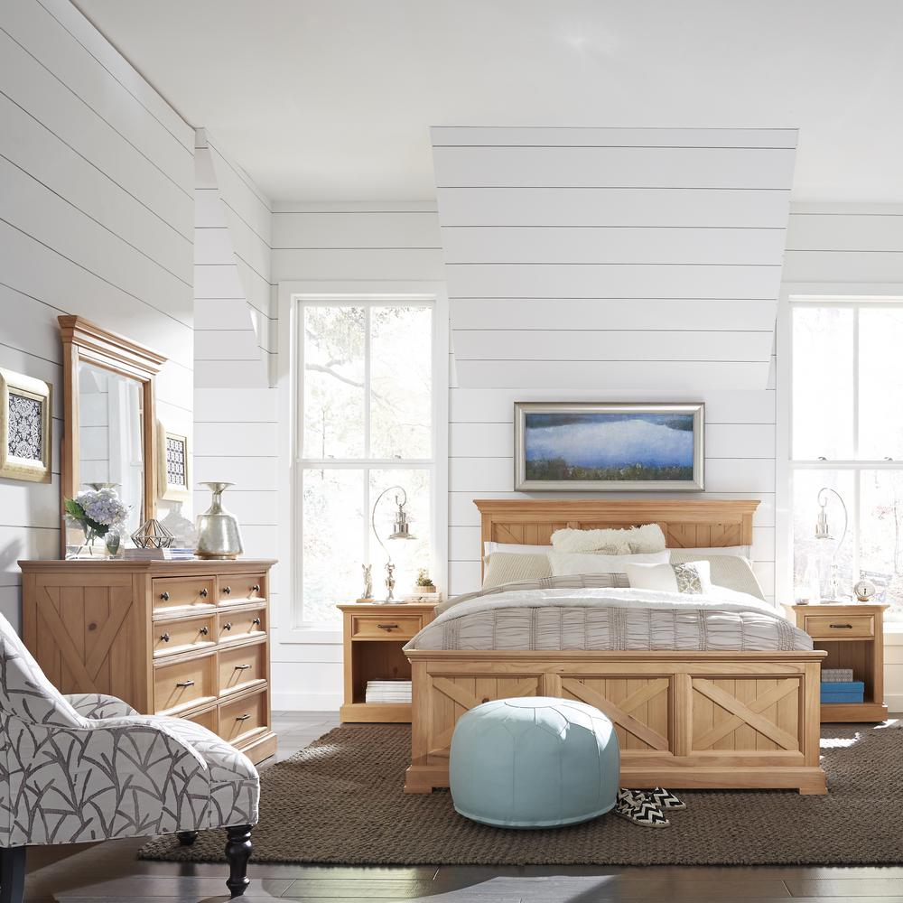 Country Lodge 5-Piece Pine King Bedroom Set