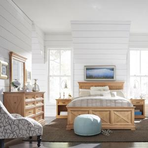 Home Styles Country Lodge 5-Piece Pine King Bedroom Set by Home Styles