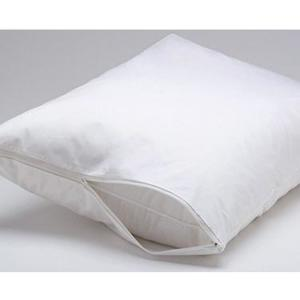 King - Evolon Zippered Allergy Pillow Protector - Dust Mite, Bed Bug, and Allergen Proof Encasement