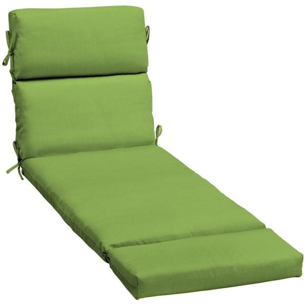 23 x 73 Sunbrella Canvas Gingko Outdoor Chaise Lounge Cushion