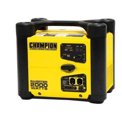 1,700-Watt Gasoline Powered Recoil Start Portable Generator