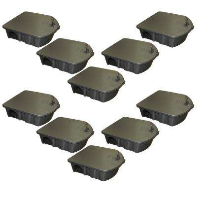 Rat and Mouse Bait Station (10-Pack)