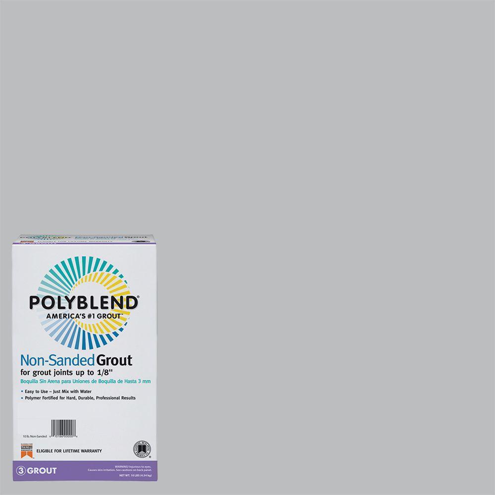Polyblend #115 Platinum 10 lb. Non-Sanded Grout