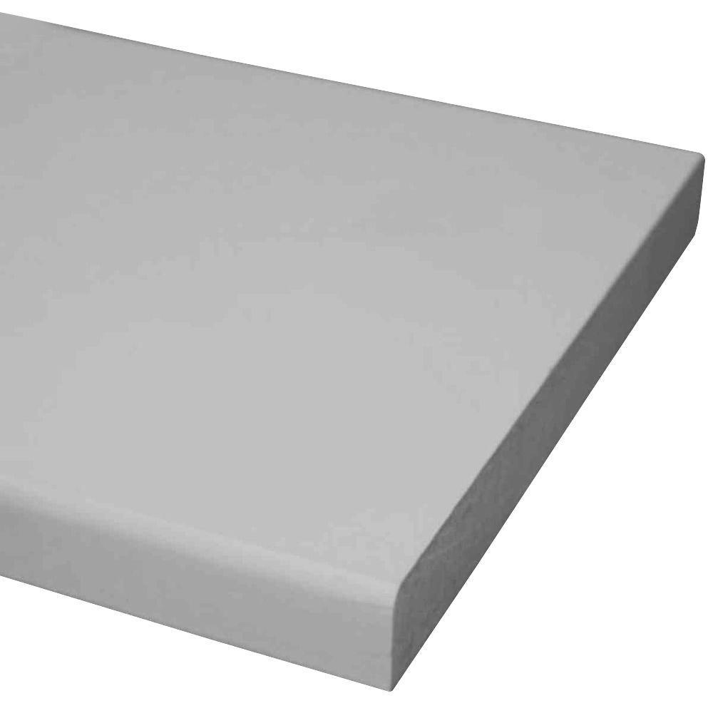 Pac Trim 1 in. x 4 in. x 12 ft. Primed MDF Board