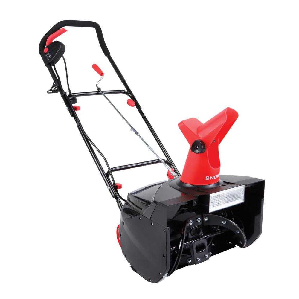 Snow Joe MAX 18 in. 13.5 Amp Single Stage Electric Snow Blower with Light