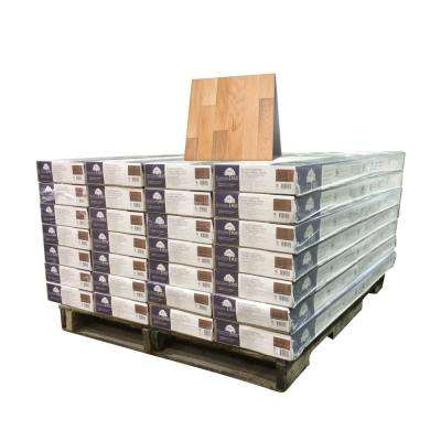 Vintage Hickory Sea Mist 3/8 in. x 4-3/4 in. Wide x Varying Length Engineered Click Wood Flooring (924 sq. ft. / pallet)