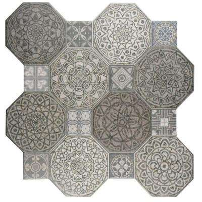 Gray Floor Merola Tile Ceramic Tile Tile The Home Depot