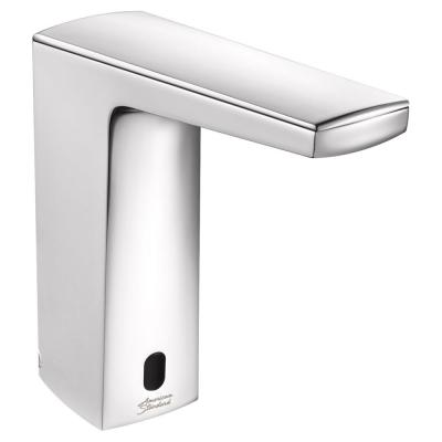 Paradigm Base Model AC Powered Single Hole Touchless Bathroom Faucet with SmarTherm 1.5 GPM in Polished Chrome