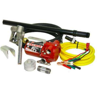 Handheld 12-Volt DC Gas Pump with Pipe