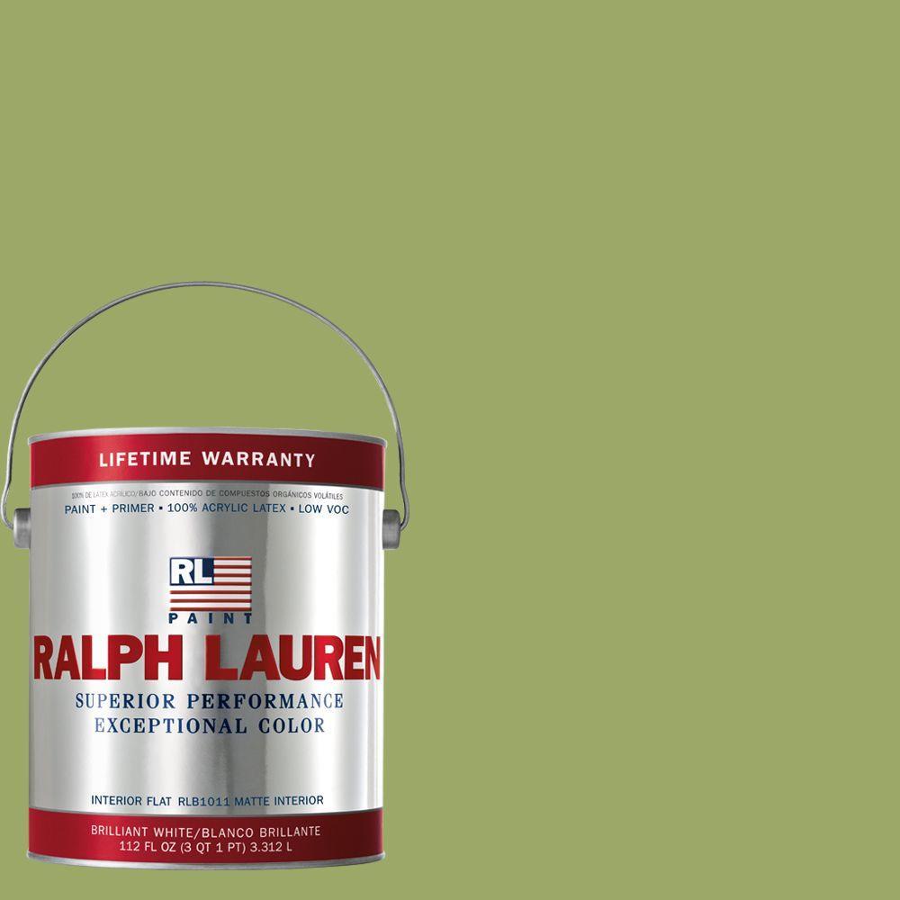 Ralph Lauren 1-gal. English Apple Green Flat Interior Paint