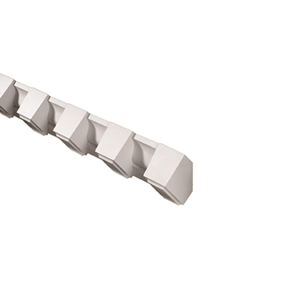Fypon 3 1 2 in x 3 3 4 in x 96 in polyurethane dentil for Fypon products