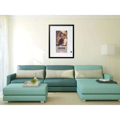 "30 in. x 22 in. ""Foxy VIP Cohiba Cigar Series"" by Fairchild Paris Framed Print Ad Wall Art"