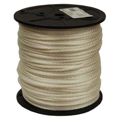 #4 - 1/8 in. Solid Braid Nylon Rope 250 ft. Spool
