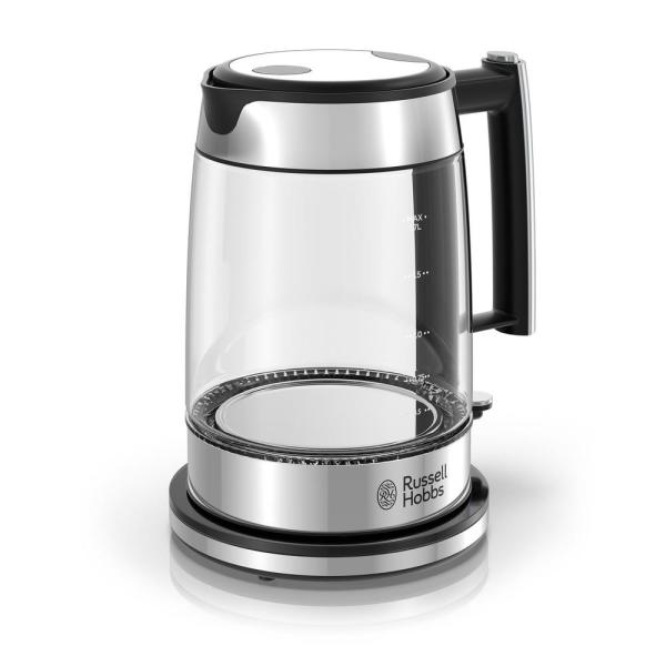 d283ed7ab3b1 Russell Hobbs Glass 5-Cup 1.7 l Electric Kettle in Black and ...