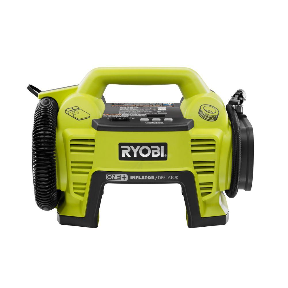 ryobi 18 volt one dual function inflator deflator tool. Black Bedroom Furniture Sets. Home Design Ideas