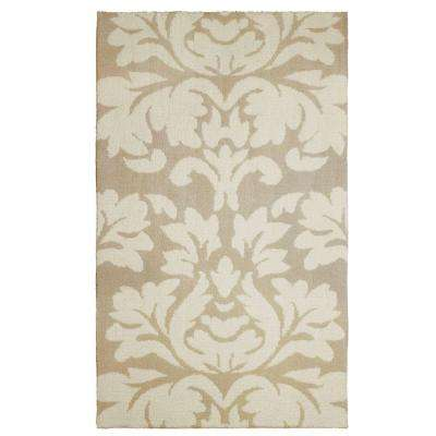 Kent Plush Knit Taupe 2 ft. x 4 ft. Area Rug