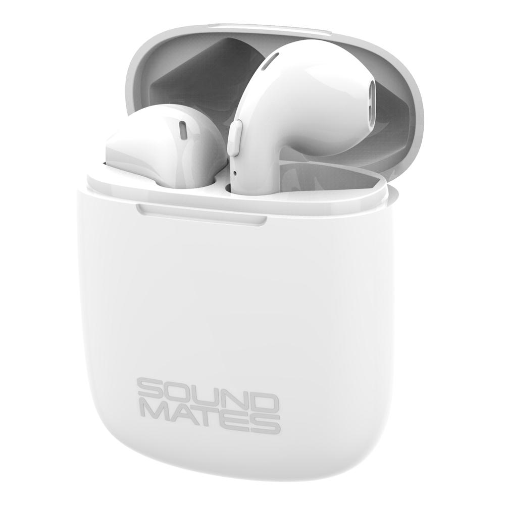 Tzumi Sound Mates Wireless Stereo Earbuds Bluetooth 5 0 6759hd The Home Depot