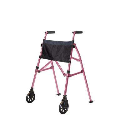 EZ Fold-N-Go Walker in Regal Rose