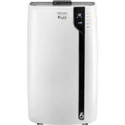 14,000 BTU 3-in-1 Portable Air Conditioner with Dehumidifier in White