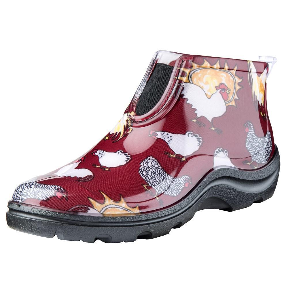 Women's Red Barn Chicken Ankle Garden Shoe