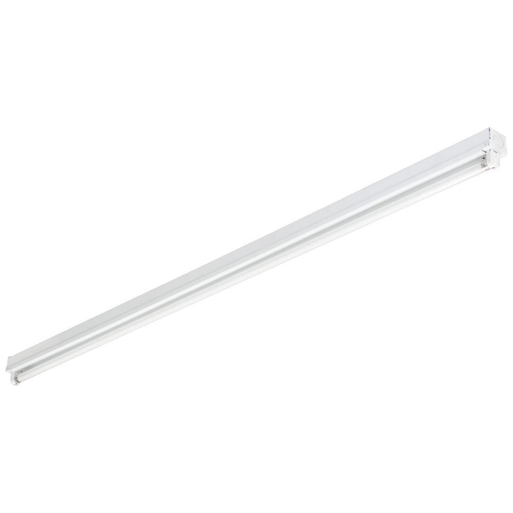 Lithonia Lighting MNS5 1 28 LP Mini Strip 1-Light White Fluorescent Utility Light