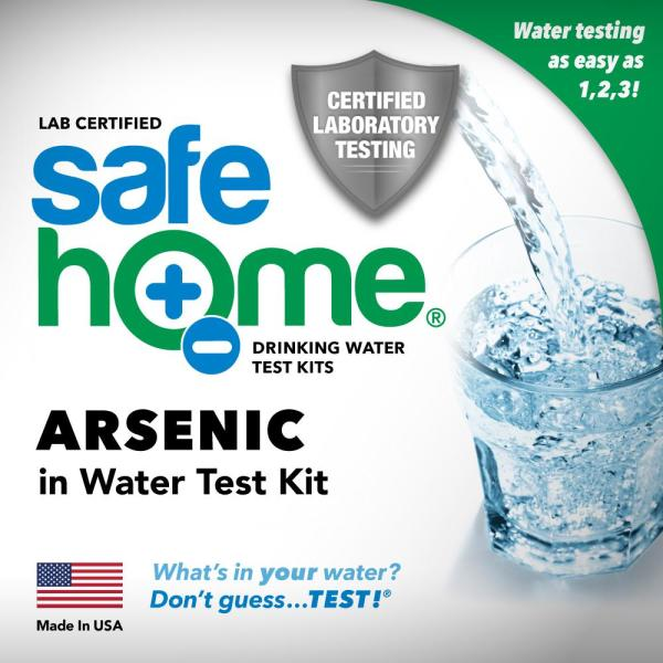 Safe Home Lab Tested Arsenic Drinking Water Test Kit Sh Aswt1 The Home Depot