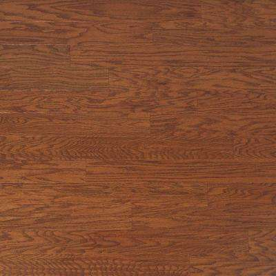 Scraped Oak Amaretto 3/4 in. Thick x 4 in. Wide x Random Length Solid Hardwood Flooring (21 sq. ft. / case)