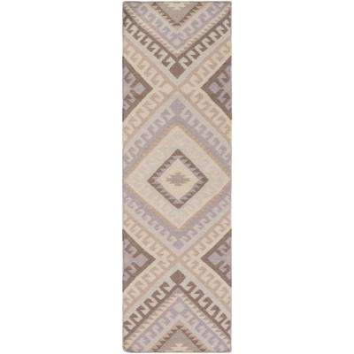 Dean Medium Gray 3 ft. x 8 ft. Indoor Runner Rug