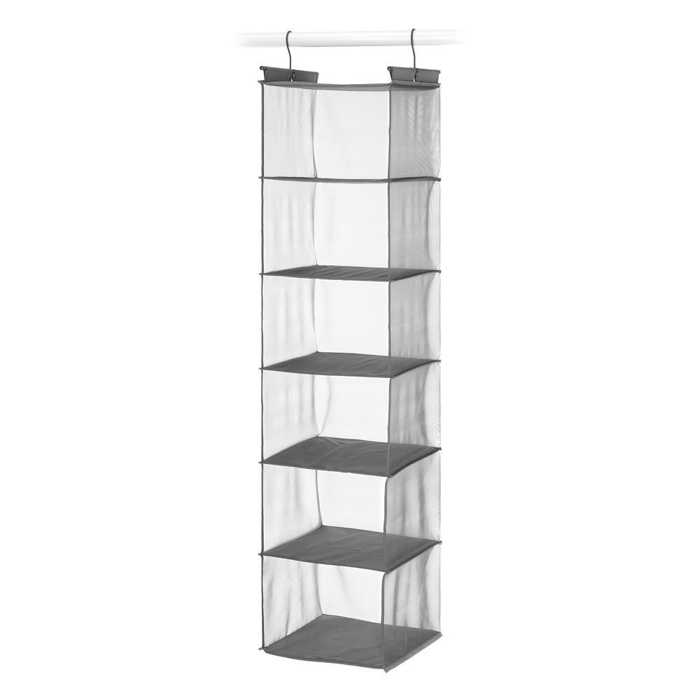 Whitmor 6 Shelf Hanging Accessory Organizer 6573 8251 Pdq The