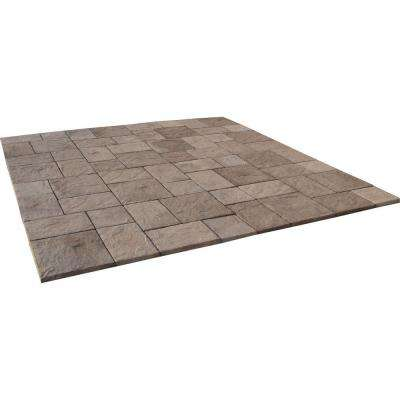 10 ft. x 10 ft. San Juan Blend Heritage Stone Paver Patio-on-a-Pallet