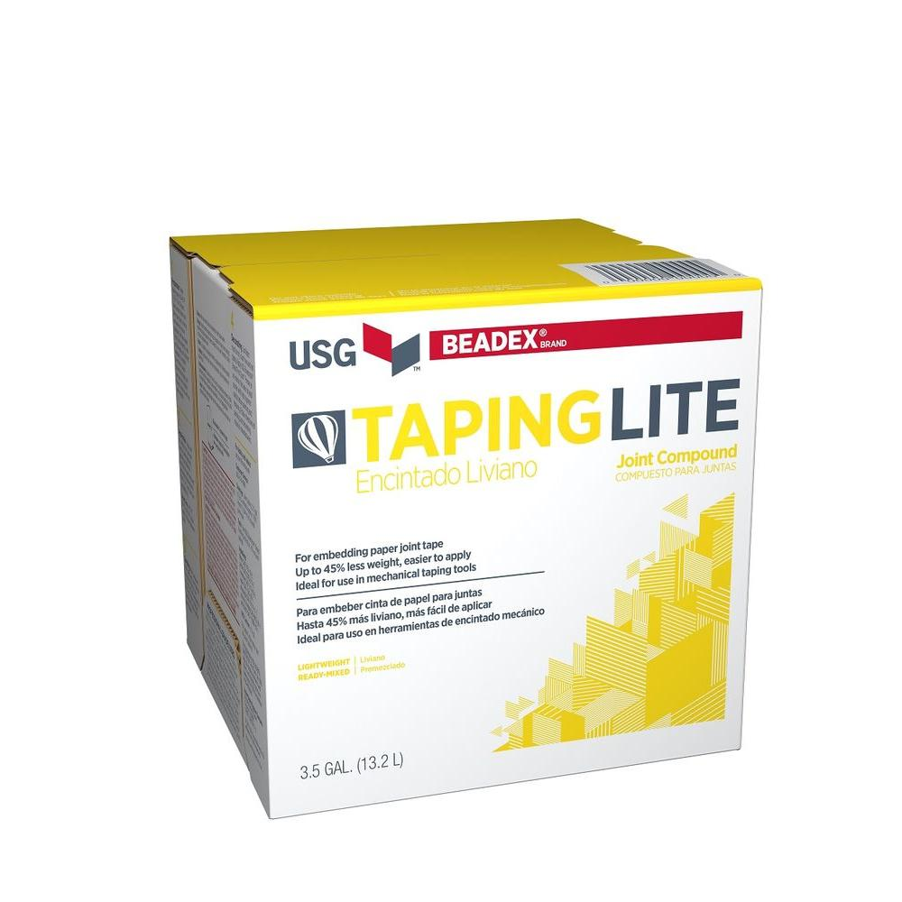 BEADEX Brand 3.5 Gal. Lite Taping Pre-Mixed Joint Compound