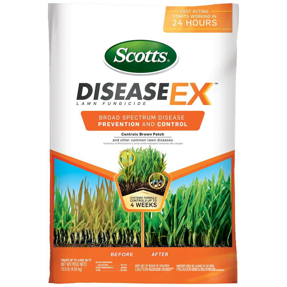 Scotts 10 lb. 5,000 sq. ft. Disease Ex Fungicide for Lawns