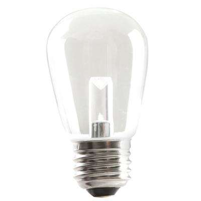 11W Equivalent Soft White S14 LED Dimmable Light Bulb (25-Pack)