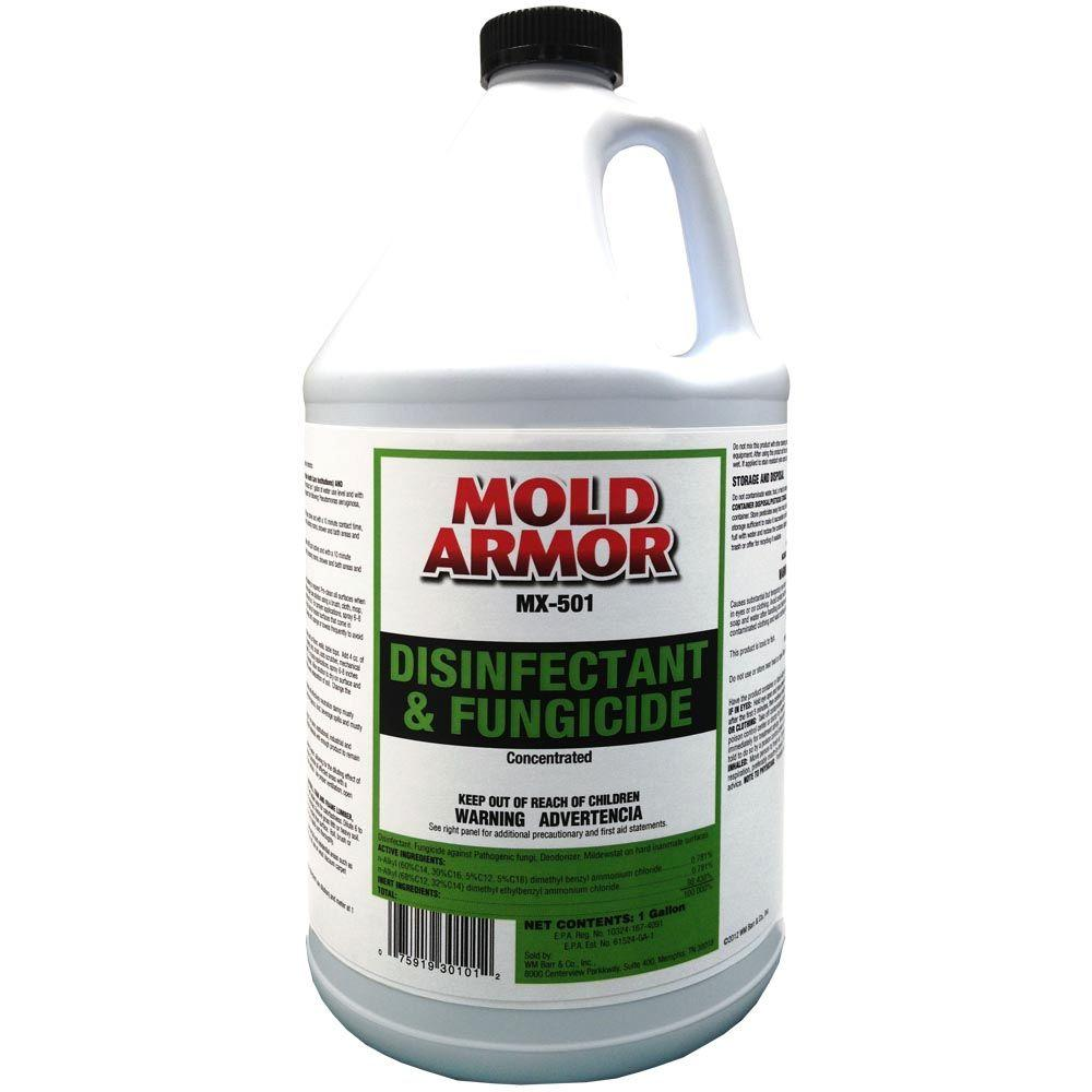 Mold Armor 1 Gal Disinfectant And Fungicide Gom30101