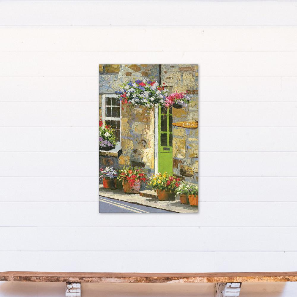 Designs direct 36 in x 24 in colorful flower shop for Direct from the designers