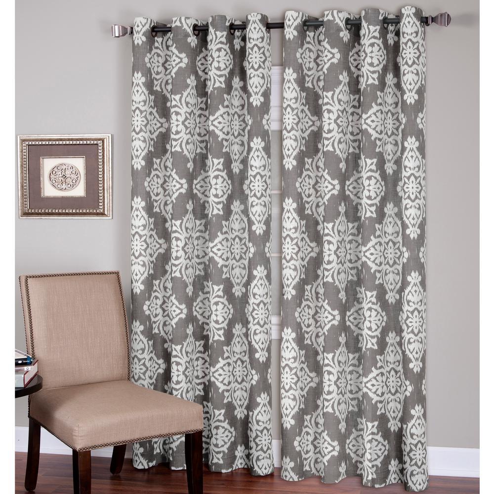 Medina Ikat Room Darkening Window Curtain