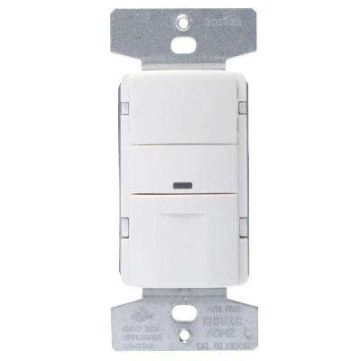 5 Amp 3-Way Wall Mount Occupancy Sensor, White