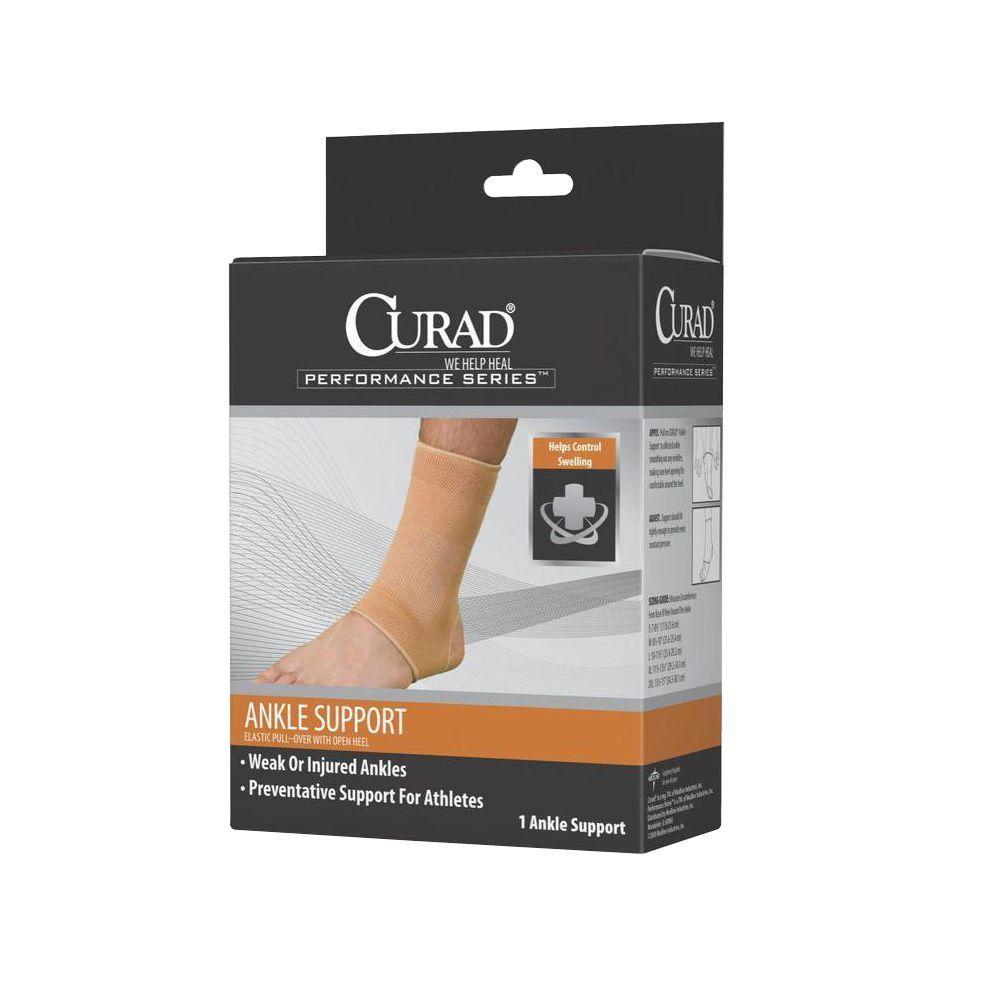 Medium Elastic Open Heel Ankle Support