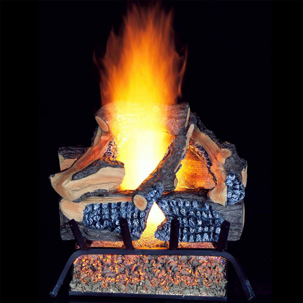18 in. Vented Gas Log Set Natural Gas - 35,000 BTU
