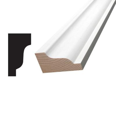 1-1/4 in. x 2-1/4 in. x 96 in. Primed Pine Finger-Jointed Crown Moulding