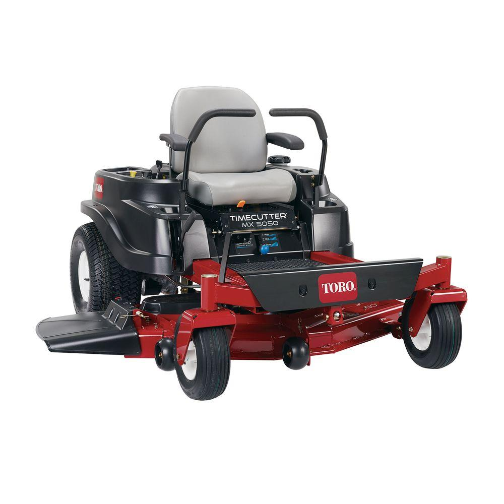 Toro TimeCutter MX5050 50 in. Fab 24 HP V-Twin Zero-Turn Riding Mower with Smart Speed