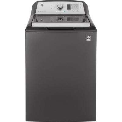 4.5 cu. ft. High-Efficiency Diamond Gray Top Load Washing Machine and Wifi Connected, ENERGY STAR